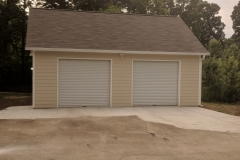 Detached Garage front elevation