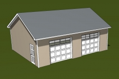 Detached Garage Cad drawing