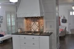 Mid Century Kitchen vent hood