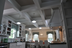 Mid Century Kitchen tray ceiling